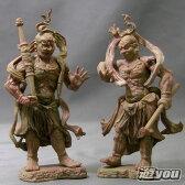和の心 仏像コレクション 金剛力士立像(阿形&吽形) 2種セット エポック社 ガチャポン