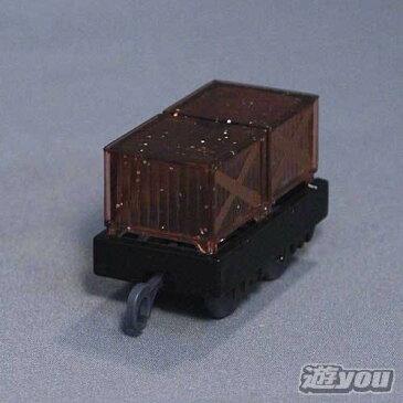 カプセルプラレール きかんしゃトーマス 291:荷物貨車(キラキラ) タカラトミーアーツ ガチャポン ガチャガチャ ガシャポン