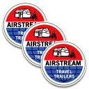 ステッカー 3枚 セット / AIR STREAM エアストリーム TRAVEL ...