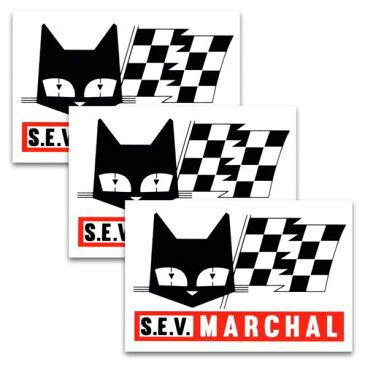 [メール便送料無料] ステッカー 3枚 セット / MARCHAL マーシャル アメリカン雑貨