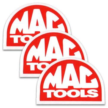 [メール便送料無料] ステッカー 3枚 セット / MAC TOOLS マックツールズ アメリカン雑貨
