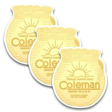 [メール便送料無料] ステッカー 3枚 セット / Coleman コールマン B アメリカン雑貨