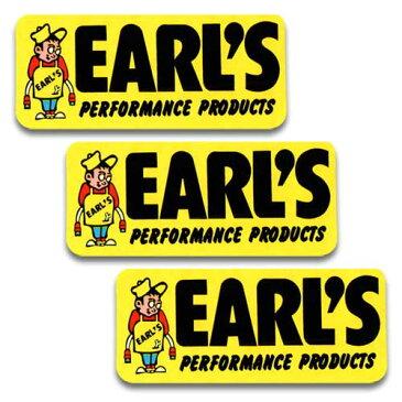 [メール便送料無料] ステッカー 3枚 セット / EARL'S アールズ アメリカン雑貨