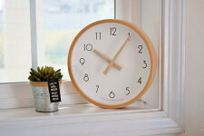 CreerクレエCAMPASキャンパスウォールクロック白ホワイトS丸壁掛け時計サークル