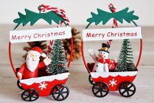 COVENTGARDENコベントガーデンクリスマスペアカート北欧スノーマンクリスマス雑貨オブジェサンタクロース