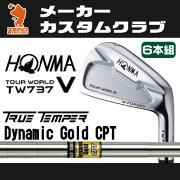 本間ゴルフ_ホンマ_ツアーワールド_TW737V_アイアン_HONMA_TOUR_WORLD_TW737V_IRON_ダイナミックゴールド_スーパーライト_Dynamic_Gold_SL