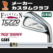 フォーティーン_TC770_FORGED_アイアン_FOURTEEN_TC770_FORGED_IRON_TURE_TEMPER_GS85