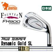 フォーティーン_FH900_FORGED_アイアン_FOURTEEN_FH900_FORGED_IRON_Dynamic_Gold_CPT