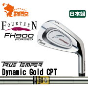 フォーティーン_FH900_FORGED_アイアン_FOURTEEN_FH900_FORGED_IRON_Dynamic_Gold_SL
