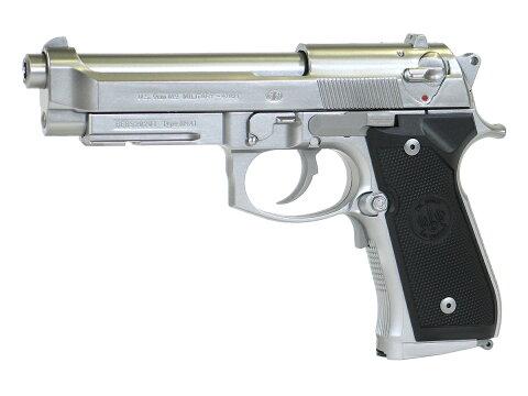 東京マルイ M9A1 - シルバーモデル - セミオート単発/フルオート連発切替え式 電動ブローバックフルオートシリーズ(電動ガン) 対象年令10才以上(10歳以上)