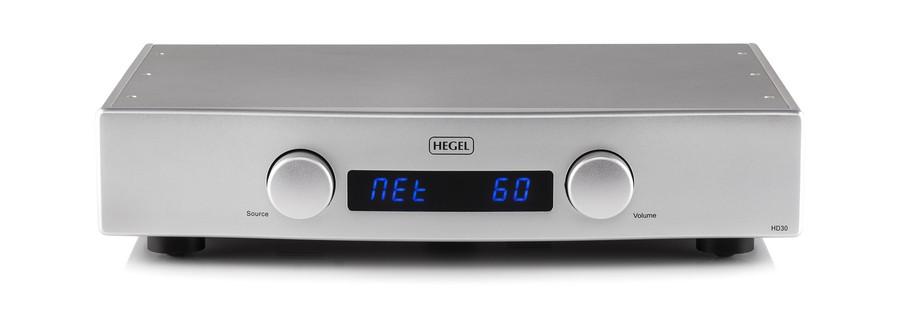 HEGEL - HD30/シルバー(USB-DAC内蔵ネットワークプレーヤー) 【送料無料】【オーディオ逸品館】