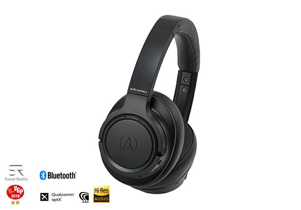 audio-technica - ATH-SR50BT-BK(ブラック)(ワイヤレスヘッドホン)【店頭受取対応商品】【在庫有り即納】