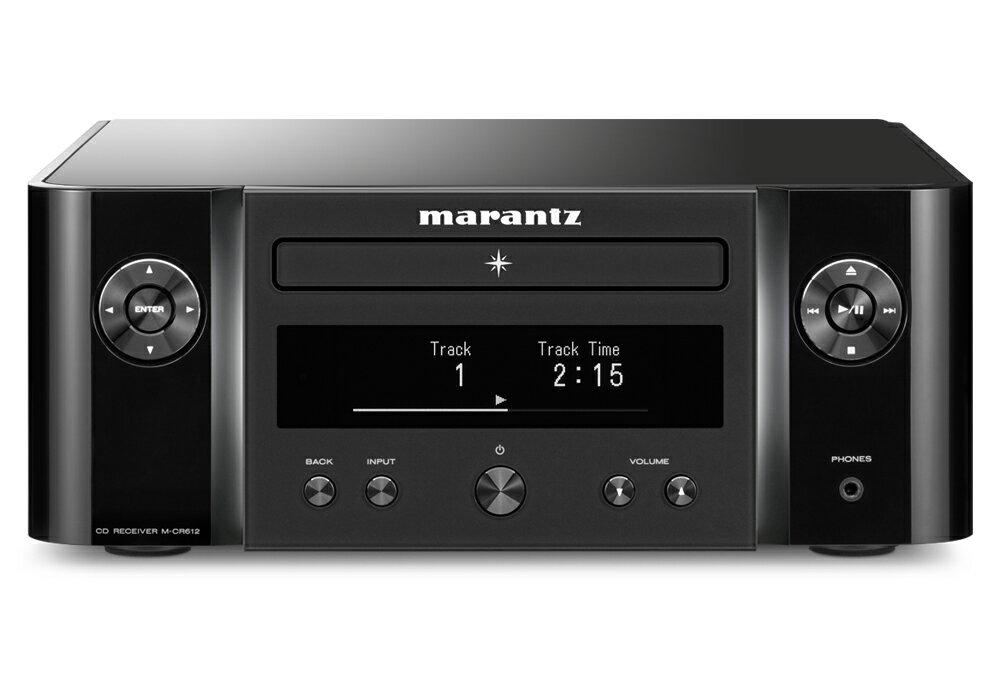 marantz - M-CR612/ブラック(ネットワークCDレシーバー)【店頭受取対応商品】【在庫有り即納】