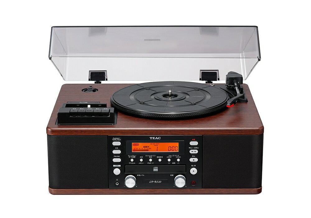 コンポ用拡張ユニット, レコードプレーヤー TEAC - LP-R520-WACD