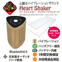 FunSounds - HeartShakerコンプリートパッケージ(専用振動板Small・Largeセット・充電式Bluetoothバイブレーションスピーカー)【店頭受取対応商品】