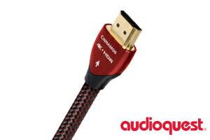 【即納可能、送料無料】audioquest HDMI Cinnamon 12mオーディオクエスト シナモン 12mスタンダードスピードHDMIケーブル