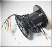 DH LABS ディーエイチラボ Q-10 signature 3.5m pair (Bi-wire) アンプ側スペード スピーカー側バナナ