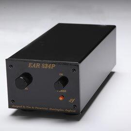 EAR管球式フォノイコライザーアンプEAR834PMM/MCBlack価格お問い合わせ下さい。