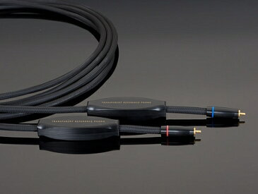 TRANSPARENT Reference Phono Cable RPH 1.5 (1.5m) RCA → RCA トランスペアレント フォノケーブル