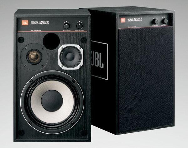 オーディオ, スピーカー JBL 4312M II BK