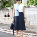 リネン 麻100% UVカットレディースファッション ワンピース ロン...