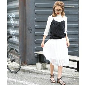チュールスカートミドル丈スカートスカート白ピンクレディーススカートレディースボトムふんわりひざ丈ロングホワイト白スカート裏地付チュールボトムシンプル無地合わせやすい春ファッション
