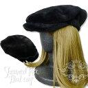Herma シェアードレッキスブラックハンチング帽子