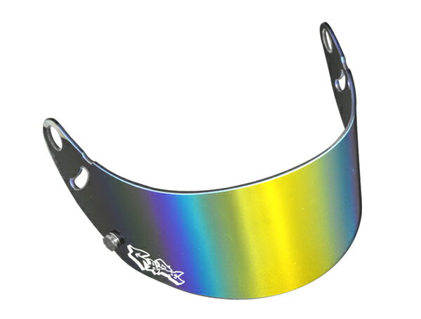 GAZEゲイズミラーバイザー(ゴールド)アライヘルメットGP-6SK-6シリーズカート4輪走行会 店頭受取対応商品