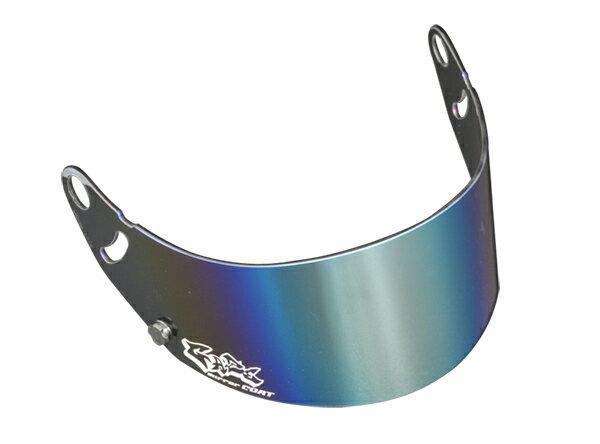 GAZEゲイズミラーバイザー(シルバー)アライヘルメットGP-6SK-6シリーズカート4輪走行会 店頭受取対応商品