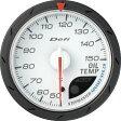 [Defi] デフィ Defi-Link Meter ADVANCE CR 油温計 60φ 白 オイルテンプメーター