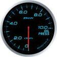 [Defi] デフィ Defi-Link Meter ADVANCE BF 油圧計/プレス計 60φ 青ブルー プレスメーター