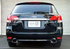 [柿本改] マフラー Class KR 【 エクシーガ 2.0GT [DBA-YA5]  EJ20(T) (10/8-) 5AT 4WD 】