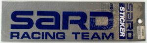 【即納】 ステッカー ≪SARDステッカー(SARD RACING TEAM、ブルー)≫ 【サイズ(mm):75x270...