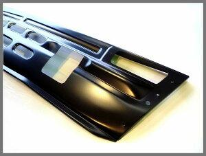 【送料無料】【即納】ハコスカフロントエプロンKGC10/GC10スチール製ブラックベース
