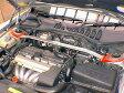 [カワイ製作所] フロントストラットバー (OS-Type) 【 VOLVO ボルボ 850共通 ※助手席側ストラットにABSユニットあるもの装着不可 】