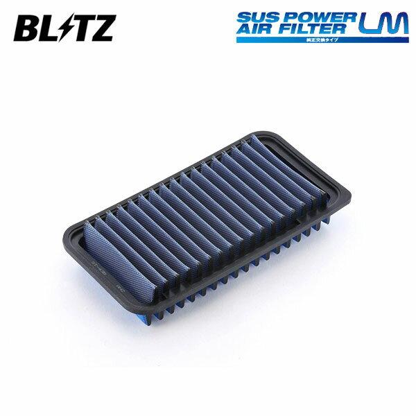 吸気系パーツ, エアクリーナー・エアフィルター BLITZ LM ST-43B 59507 NZE121G NZE124G ZZE122G ZZE123G ZZE124G 00080610 1NZ-FE1ZZ-FE2ZZ-GE