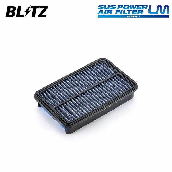 吸気系パーツ, エアクリーナー・エアフィルター BLITZ LM ST-44B 59508 ZZT230 ZZT231 9909 1ZZ-FE2ZZ-GE