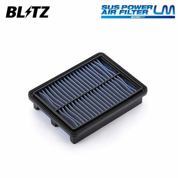吸気系パーツ, エアクリーナー・エアフィルター BLITZ LM SA-320B 59616 DJ5FS DS5AS 1808 S5-DPTS
