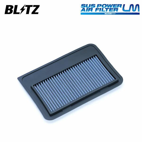[BLITZ] ブリッツ サスパワー エアフィルター LM WS-735B 59636 スイフトスポーツ ZC33S 17/09〜 K14C画像