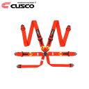 CUSCO クスコ レーシングハーネス 6-Point レッド 6点式
