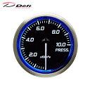 Defi デフィ Racer Gauge N2 Φ52 圧力計 0〜1000kPa