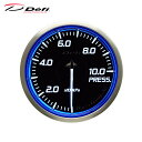 Defi デフィ Racer Gauge N2 Φ60 圧力計 0〜1000kPa