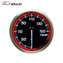 Defi デフィ Racer Gauge N2 Φ52 温度計 30〜150℃ レッドモデル