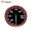 Defi デフィ Racer Gauge N2 Φ60 温度計 30〜150℃ レッドモデル