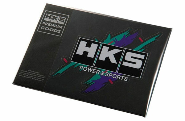 外装・エアロパーツ, ステッカー・デカール HKS HKS STICKER SUPER RACING LARGE 150mm140mm