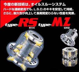 クスコ LSD Type-RS 1WAY GD3 フィット 04.7-07.9 L15A MT フロント用 標準デフ:オープン