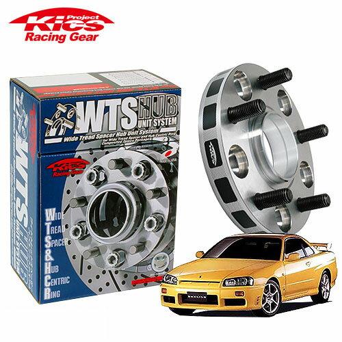 タイヤ・ホイール, ホイールスペーサー  Kics W.T.S. R33 R34 V35 V36 M12 x P1.25 5 PCD114.3 66 20mm