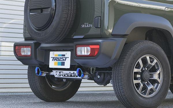 排気系パーツ, マフラー TRUST GReddy G-Style JB74W 18.07 K15B 1460 4WD