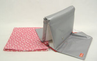 """Disaster prevention hood cover set ' pink Ma-Galette """"(NEW) ( are light blue and yellow on the other )"""