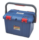 リングスター 工具箱 (ドカット)D-5000 ブルー(NEW) 【工具箱 プラスチック 工具箱 ツールボックス】★ご必要数量が多い場合はお電話下さい。★信頼のブランド リングスター 工具箱 ツールボックス★
